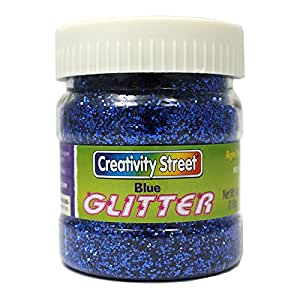 CHENILLE KRAFT COMPANY GLITTER 4 OZ. BLUE (Set of 24)