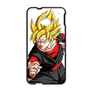 HTC One M7 Cell Phone Case Covers Black Dragon Ball Gt With Nice Appearance F9820313