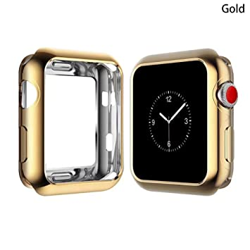 Weiyi0765 - Carcasa Protectora para Apple Watch Series 3 ...