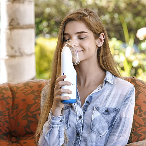 New Cordless Mypurmist Free - Ultrapure Handheld Steam Inhaler and Vaporizer (Mypurmist Free Kit). Fast Natural Relief from Sinus Congestion, Colds and Allergies by MyPurMist (Image #4)'
