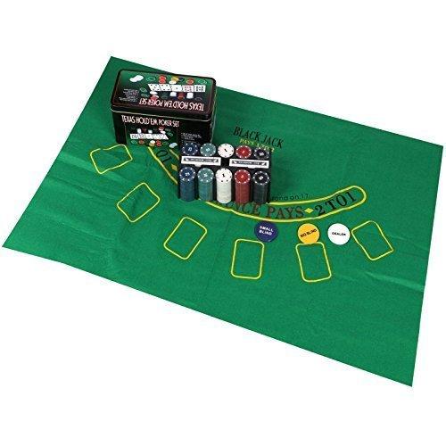 Sohler By Eurotrade W 2003847 Texas Hold 'em Poker Geschenk-Set Eurotrade (w) Ltd