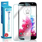 Galaxy S7 Screen Protector (Case Friendly,Updated Version) [2-Pack], ILLUMI AquaShield Full Coverage Screen Protector for Galaxy S7 HD Clear Anti-Bubble Film