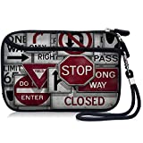 "6"" 6.3"" Designed Waterproof Anti-shock Universal Carrying Case Bag Sleeve Protector with Extra Pocket for Google Android Tablet / Smartphone / GPS / Navigator / SAT NAV / Mobile Disk / External hard disks / Nintendo DS / NDS / NDSi / TOMTOM / Garmin, HDC6-B45#02"