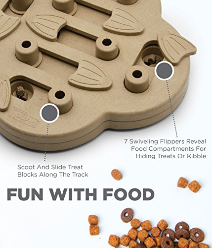 Nina Ottosson Outward Hound Puzzle Toy for Dogs – Stimulating Interactive Dog Game for Dispensing Treats by Nina Ottosson (Image #3)