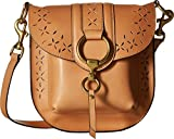 FRYE Ilana Perf Saddle Crossbody Bag Oiled Veg