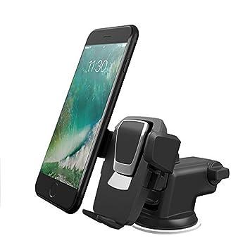 SXGX Universal-Autotelefonhalter Einfache Ein-Knopf-Schwarze Auto ...