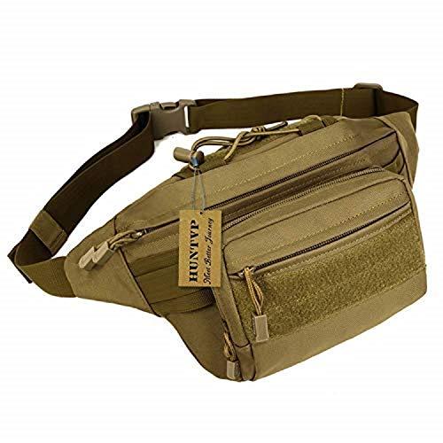 291b0519ec8 Huntvp Military Hip Fanny Pack Tactical Waist Bag Packs Waterproof Hip Belt  Bag Pouch for Hiking