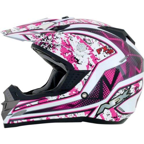AFX FX-19 Unisex-Adult Off-Road-Helmet-Style Helmet (Vibe Fuchsia, X-Large)
