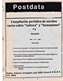 img - for Postdata: Vol 1 Num 3 (Volume 1) (Spanish Edition) book / textbook / text book