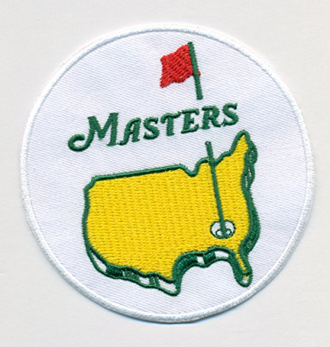 The Masters Golf Embroidered Iron On Patches Hat Jersey 3