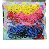 Ponytail Rope - SODIAL(R)400pcs Hairband Rope Kid Baby Girl Ponytail Holder Rubber Elastic Hair Band Ties Braids Multicolor