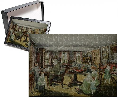Photo Jigsaw Puzzle Of Interior At New College Lane  Oxford