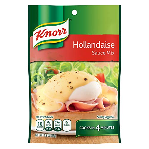 Eggs Hollandaise Sauce - Knorr Sauce Mix Sauce Mix, Hollandaise 0.9 oz (24 Pack)
