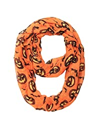 MissShorthair Halloween Infinity Scarf for Holiday Women Gift Idea