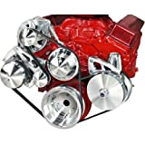 March Performance 22072 LWP Serpentine Conversion Kit for Small Block Chevy Engine