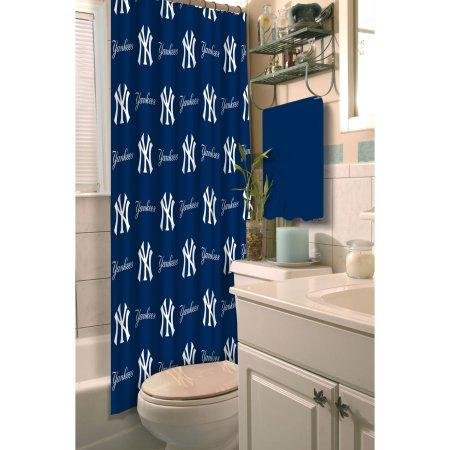 The Northwest Company MLB New York Yankees 72''x72'' Shower Curtain by The Northwest Company