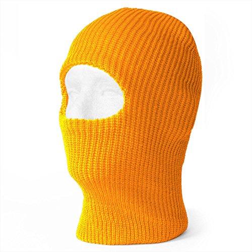 TopHeadwear One Hole Ski Mask - (20 Neon Orange