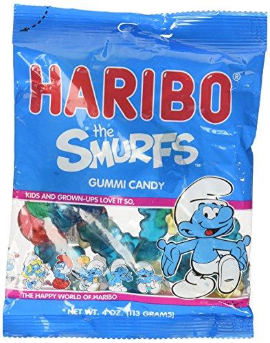 Haribo Smurfs Gummi Candy 4oz