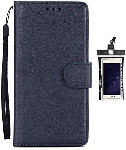 手帳型 Samsung Galaxy S8 PLUS/G955 ケース アイフォン 手帳型 プラス 本革 レザーケース 財布型 カード収納 マグネット式 スマホケース スマートフォンケース サムスン ギャラクシー[無料付防水ポーチ水泳など適用]