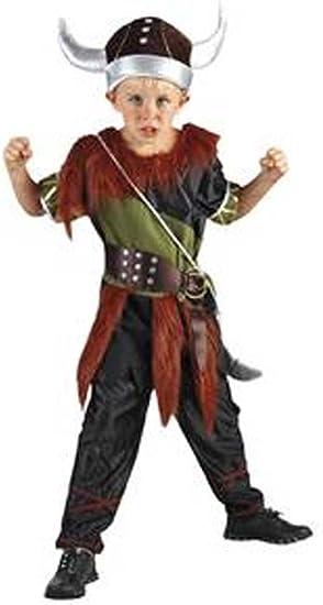 Disfraz niño Vikingo - talla 6 - 8 años (120-130CM): Amazon.es ...