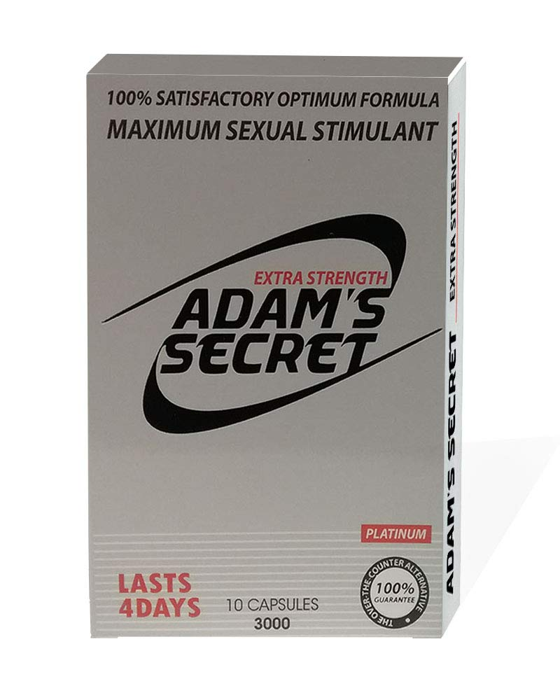 ADAM'S Secret 3000 Platinum- Maximize Performance Naturally - 10 Pills per Pack by ADAM'S SECRET (Image #1)