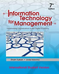 Information Technology for Management: Transforming Organizations in the Digital Economy (International Student Edition)