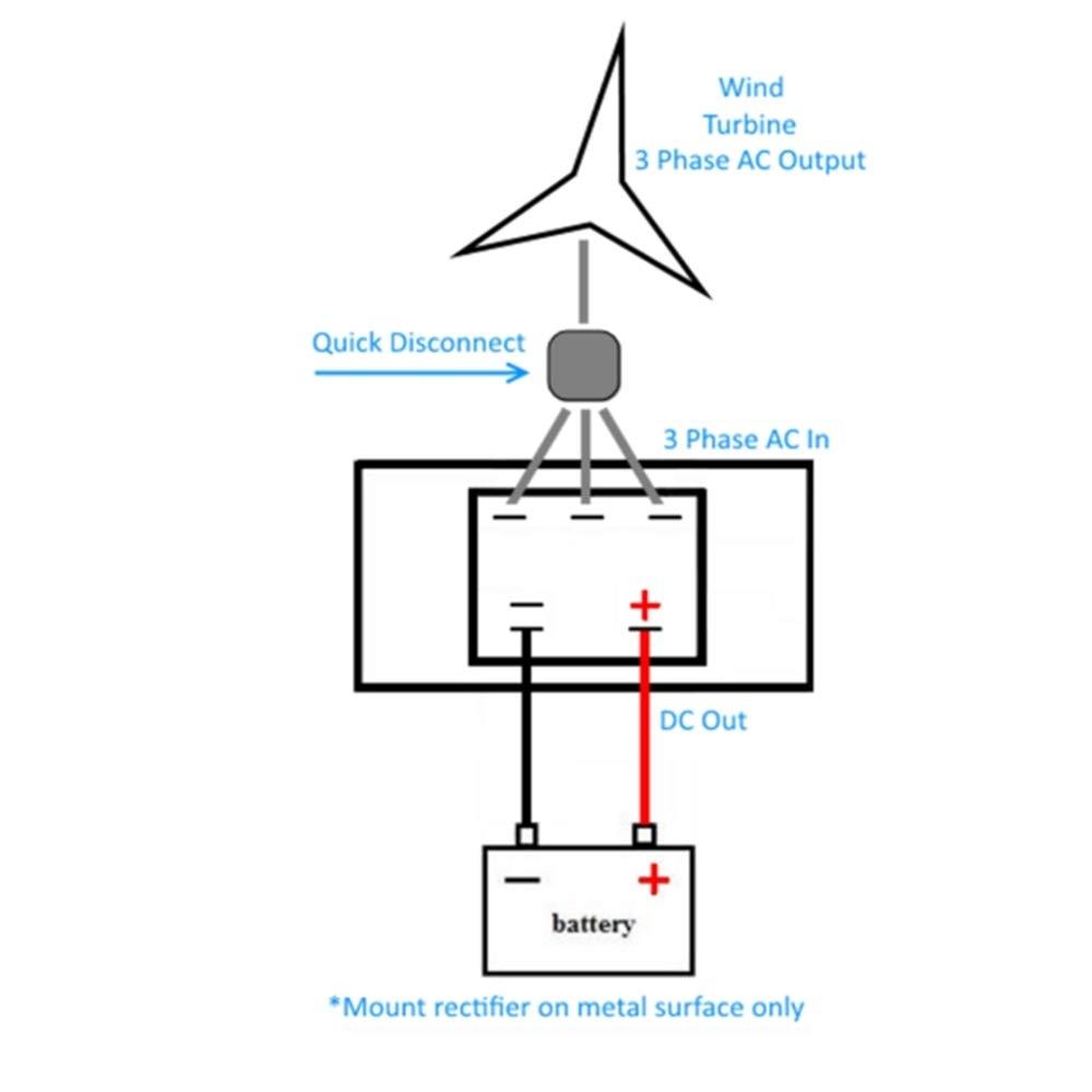 Amazon Com Weelongha 50 Amp 1000 Volt Pma Bridge Rectifier Wind