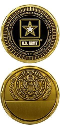U.S. Army Engravable Challenge Coin