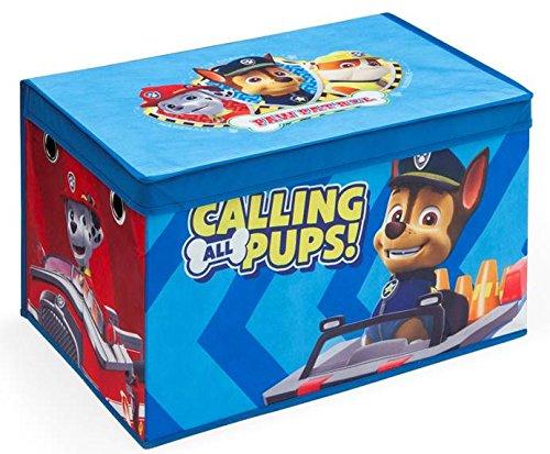Delta TB83307PW Paw Patrol faltbare Spielzeugtruhe, Stoff, blau, 55 x 37 x 32 cm Delta Children
