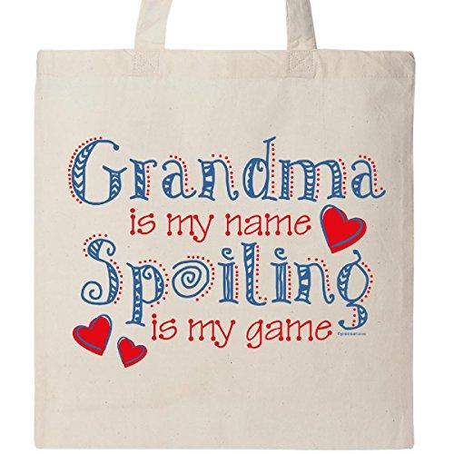 Inktastic - Spoiling Grandma Tote Bag Natural 256eb