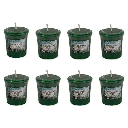 DII Z02089 Single Wick Evenly Burning Highly Scented Votive Candle for Wedding, Birthday, Holiday, and Home Décor, 1.8 oz Each, ()