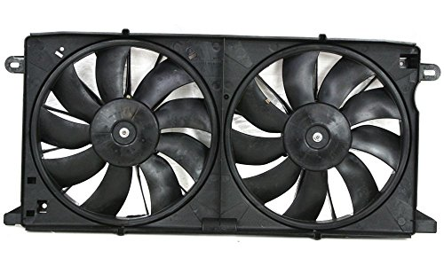 Evan-Fischer EVA24572020441 New Direct Fit Radiator Fan Assembly for DEVILLE 00-05 Dual Type Replaces Partslink# GM3115186
