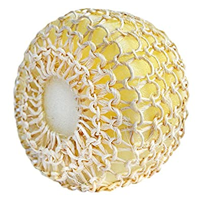 PANACHE Exfoliating Sisal Bath Ball Sponge, Beauty, Bath & Shower, Bathing Accessories, Loofahs, Sponges.
