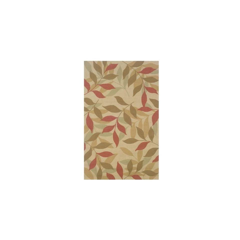 Leaf Print Indoor/Outdoor Rug Collection