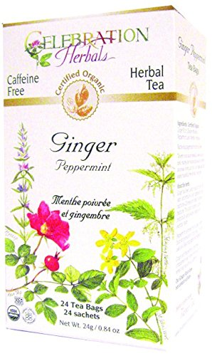 Celebration Herbals Ginger Root Tea Organic, 24 Count by Celebration Herbals