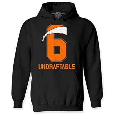 Amazon.com  Baker Undraftable Football Shirts Funny Mayfield Jersey 6 Hoodie   Clothing 32b15b747