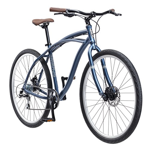 (Schwinn Men's World Classic Urban Hybrid 700C Wheel Bicycle, Blue, 19
