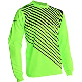 Vizari Arroyo Goalkeeper Jersey, Neon Green/Black, Size Youth Large