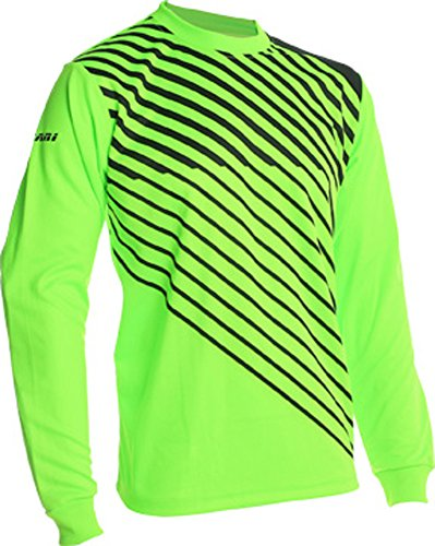 (Vizari Arroyo Goalkeeper Jersey, Neon Green/Black, Size Adult Medium)