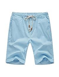 Men's Linen Casual Classic Fit Short
