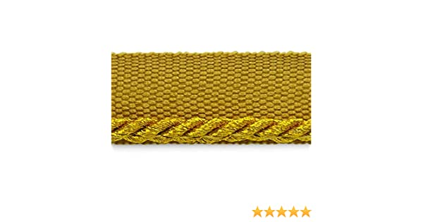 Metallic Gold Expo International 20-Yard Saturn Twisted Lip Cord Trim Embellishment 1//8-Inch