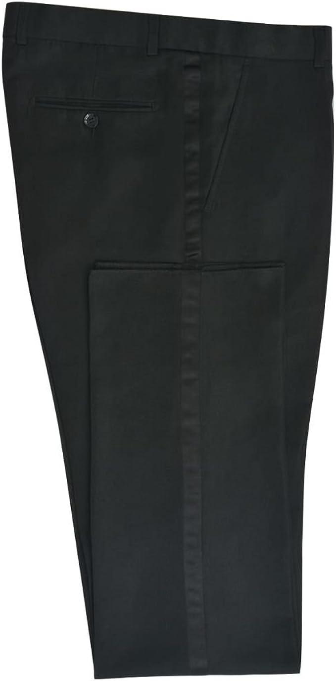 vidaXL Traje frac White Tie hombre 2 piezas negro talla 52: Amazon ...