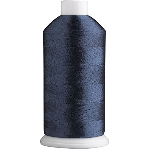 (Superb Polyester Embroidery Thread 40wt 5000m. Yale Blue 5556)