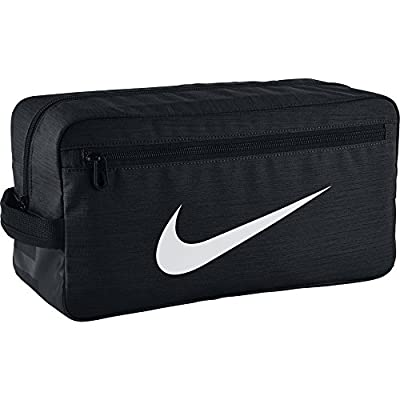 Nike Nk Brsla Shoe Bolsa de Deporte, Hombre, Negro (Black / Black / White), Talla Única