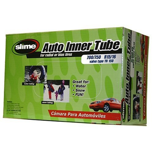Slime 5001-A Raw Auto Inner Tube - 700/750 R15/16 by Slime