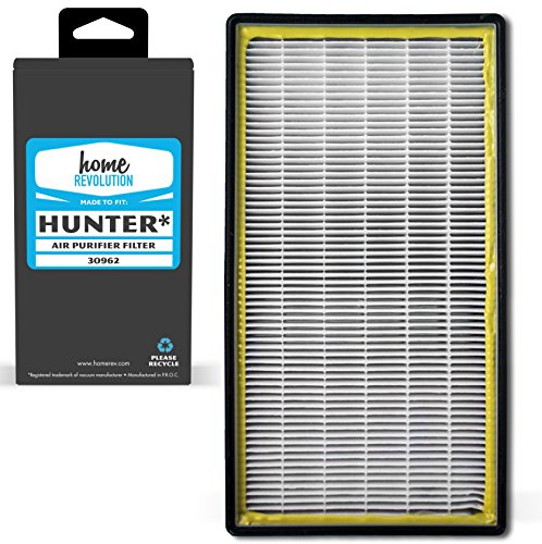 Home Revolution Replacement HEPA Filter, Fits Hunter 30713 and 30730 Air Purifiers and Part 30962