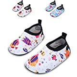 Best Water Shoes For Children - JIASUQI Baby and Kids Athletic Sneakers Barefoot Water Review