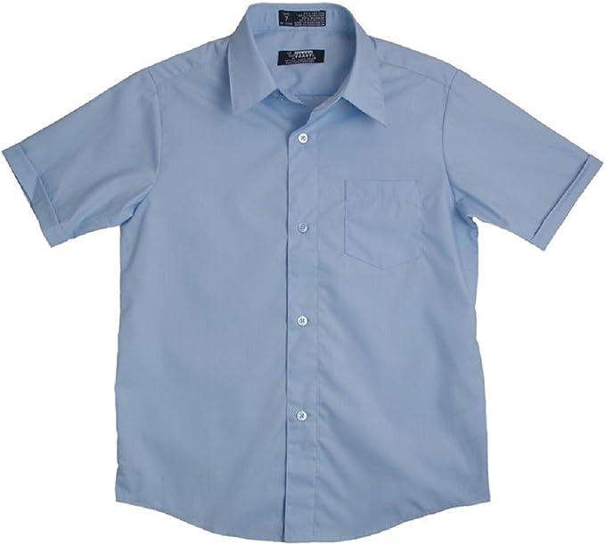 FRENCH TOAST School Uniforms Boys Sz 4 Short Sleeve DRESS SHIRT White New