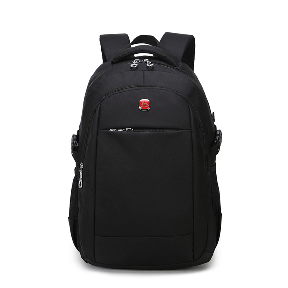 Lightweight Water Resistant Business Laptop Backpack up to 14-inches School Bookbag For Men Women, Multi-compartment Basics Camera Bag Backpack Black