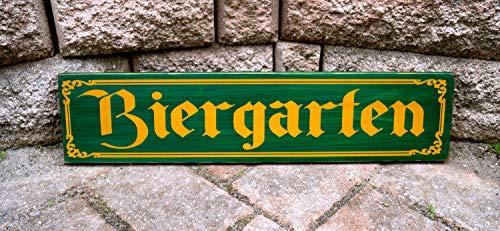 Olga212Patrick Biergarten Sign German Sign Pub Sign Home